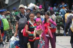 illegale Anwesenheit und es abweichende Ideologien in Indonesien Stockfotos