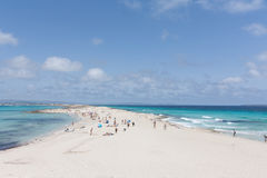 Illetes de Ses. Formentera Photo stock