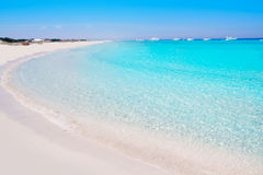 Illetes Formentera East beach tropical turquoise Stock Photo