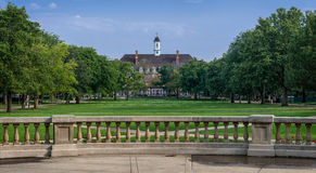 Illini Union. On West Green Street from the Quad on the campus of the University of Illinois in Urbana, Illinois Stock Photo
