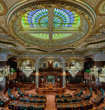 Illinois House of Representatives chamber Royalty Free Stock Photo