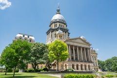 Illinois huvudstadbyggnad arkivfoton