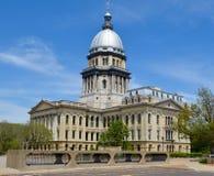 Illinois Kapitolium Arkivbilder