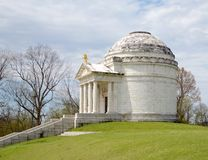 Illinois Memorial. This is a Spring picture of the Illinois State Memorial in the Vicksburg National Military Park in Vicksburg, Mississippi. The memorial is an royalty free stock photos