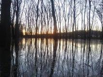 Illinois river. Outdoors nature lake stock photos