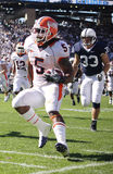 Illinois running back #5 Mikel Leshoure runs Royalty Free Stock Photo