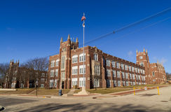 Illinois school. Royalty Free Stock Images