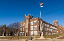 Illinois school. Royalty Free Stock Photo
