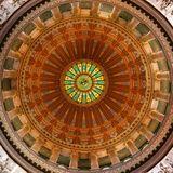 Illinois State Capitol Rotunda Royalty Free Stock Photography