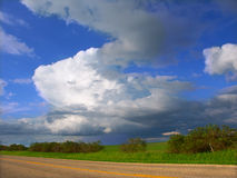 Illinois Thunderstorm stock images