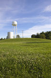 Illinois USA storage tank in field Stock Photos
