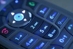 illluminated кнопочная панель Стоковая Фотография RF