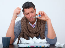 Illness business Stock Photo