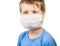 Illness child boy in medicine healthcare surgical Stock Photo