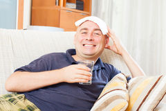 Illness  man Royalty Free Stock Photography