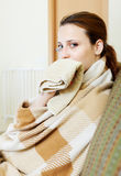 Illness woman Stock Photography