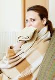 Illness woman Stock Photography