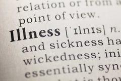 illnesses zdjęcia stock