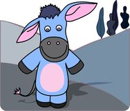 An illstration of a donkey Stock Photo