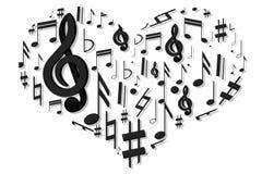 illstration kierowy musical powitanie mój portfolio Zdjęcie Stock