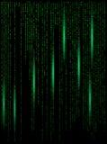 Illu de conception de papier peint de bannière de fond numérique de Matrix bel Image libre de droits