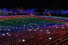 Illumia Light Illumination festival Korea Night Royalty Free Stock Photos