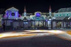 Illumia Light Illumination festival Korea Night Royalty Free Stock Photo