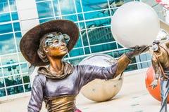 Illumina艺术雕塑 免版税图库摄影