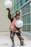 Illumina è un'installazione di tema del circo fantastico sulla base del centro Omaha di Qwest Fotografia Stock Libera da Diritti