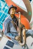 Illumina Art Sculpture imagem de stock