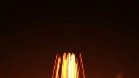 Illuminate heart light stock video