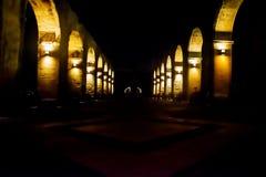 Illuminated Archway Stock Photo