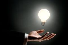 Illuminated bulb Royalty Free Stock Image