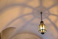 Illuminated castle Royalty Free Stock Photo
