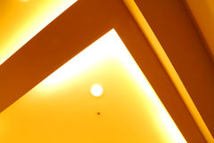 Illuminated Ceiling Royalty Free Stock Photos