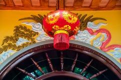 Illuminated chinese lantern hanging Stock Photography