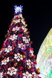 Illuminated christmas tree Royalty Free Stock Photography