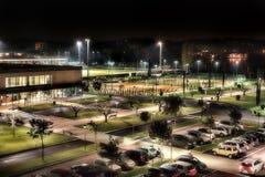 Illuminated City at Night Royalty Free Stock Images