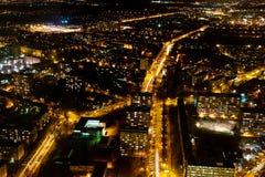 Illuminated city Royalty Free Stock Photo