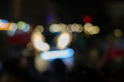 İlluminated colorful abstract background,lights of the city stock photos