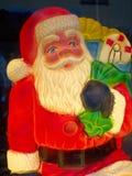 Illuminated doll of Santa Claus Royalty Free Stock Images