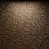 Illuminated fabric wallpaper Stock Photo