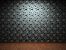 Illuminated fabric wallpaper Stock Images