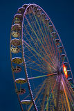 Illuminated ferris wheel Stock Photos