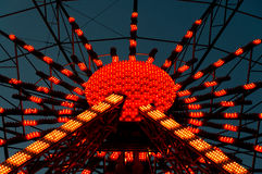 Illuminated Ferris Wheel Royalty Free Stock Photography