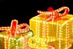 Illuminated Gift Stock Images
