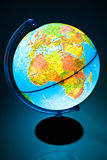 Illuminated Globe Royalty Free Stock Image