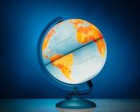 Illuminated globe model Royalty Free Stock Photography