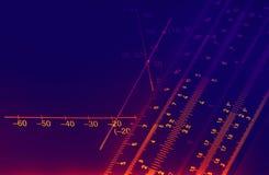 Illuminated graphics Stock Images
