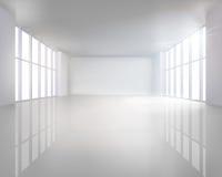 Illuminated interior. Vector illustration. Stock Image